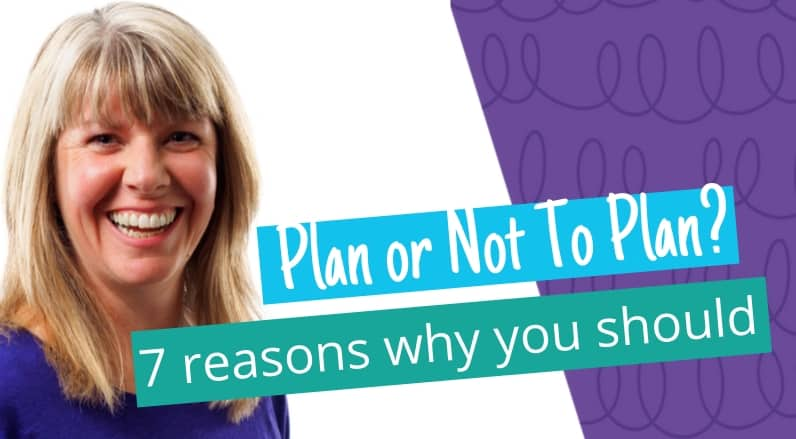 Why having a plan is good for your business