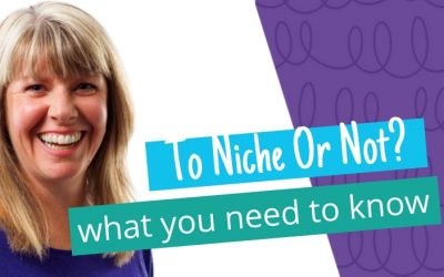Niche v not to niche: what you need to know