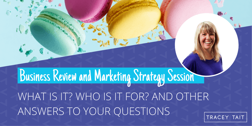 What is a Business Review And Marketing Strategy Session?