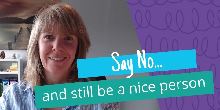 How To Say No And Still Be A Really Nice Person