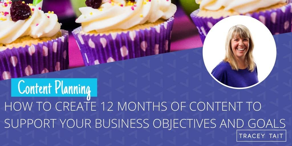 How to create your 12 months marketing plan to support your business objectives and goals