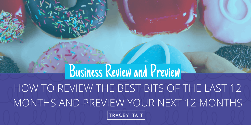 12 Months Business Review and Preview: