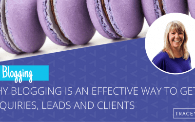 Why is blogging an effective way to get a consistent flow of enquiries, leads and clients?